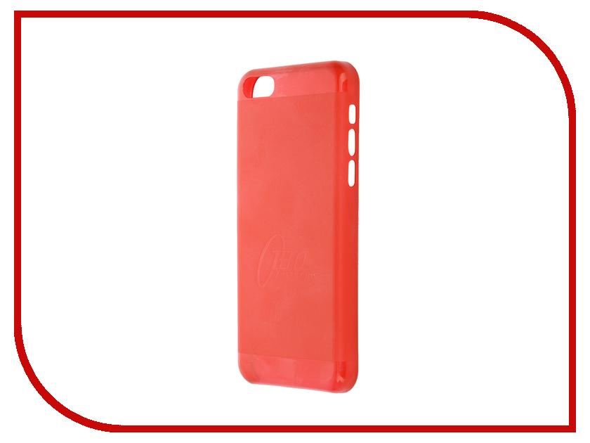 Аксессуар Чехол-накладка Itskins для iPhone 5C ZERO.3 + пленка Red 318310601<br>