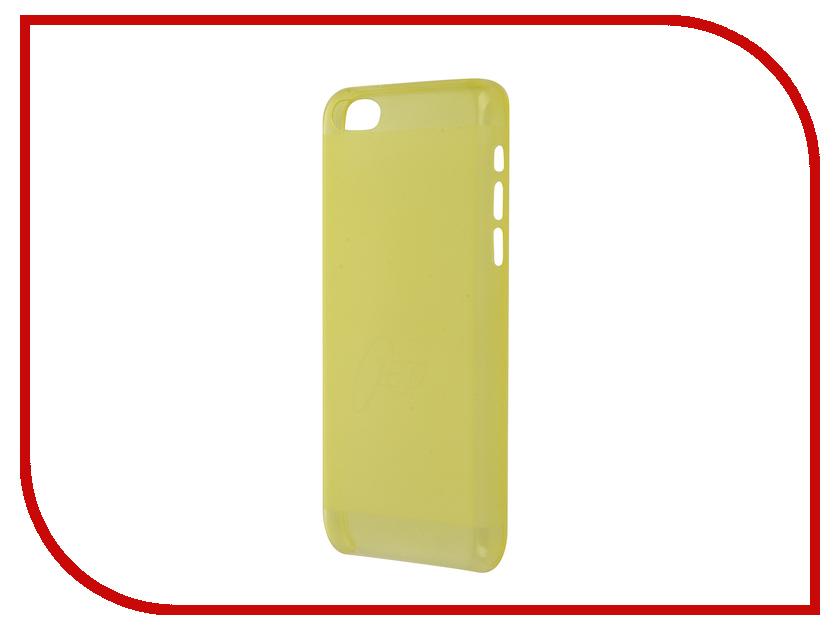 Аксессуар Чехол-накладка Itskins для iPhone 5C ZERO.3 + пленка Yellow 876010603<br>