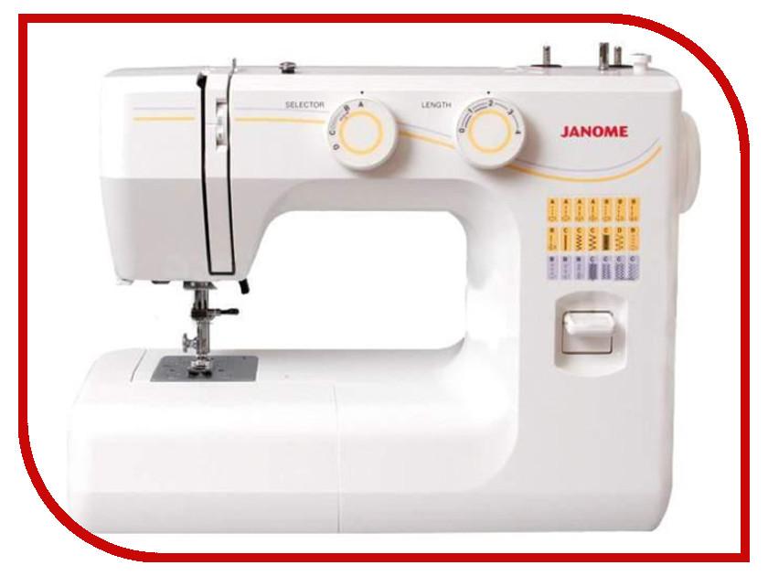 Швейная машинка Janome 1143 White швейная машинка janome dc 2030
