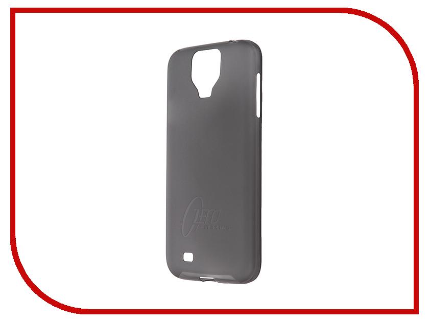 Аксессуар Чехол-накладка Samsung Galaxy S4 Itskins Zero.3 + пленка Black 611010611<br>