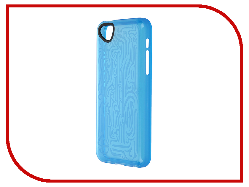 ��������� �����-�������� Itskins ��� iPhone 5C Ink + ������ Blue 647010512