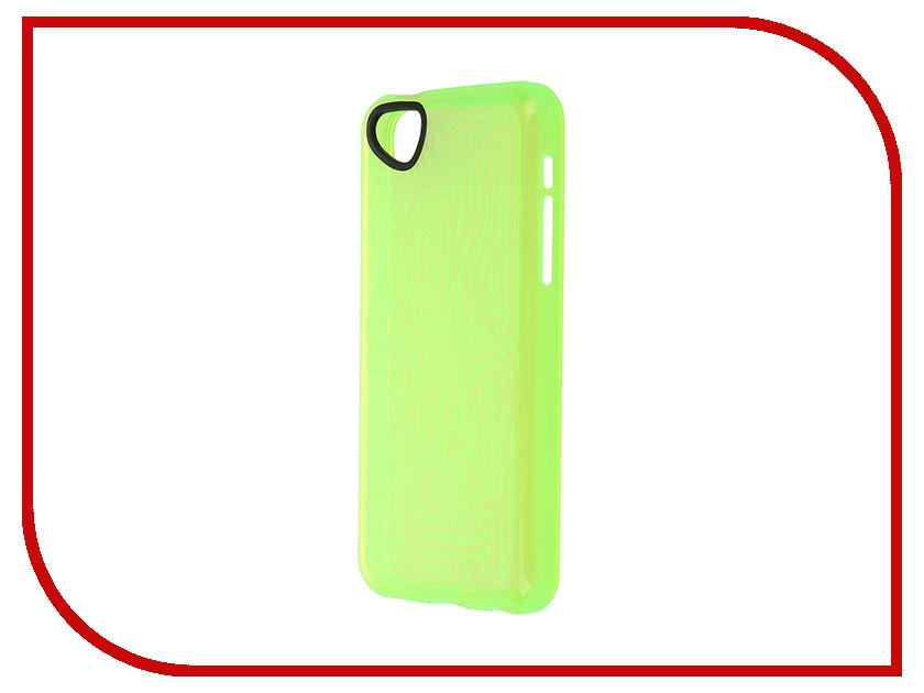 Аксессуар Чехол-накладка Itskins для iPhone 5C Ink + пленка Green 663010513<br>