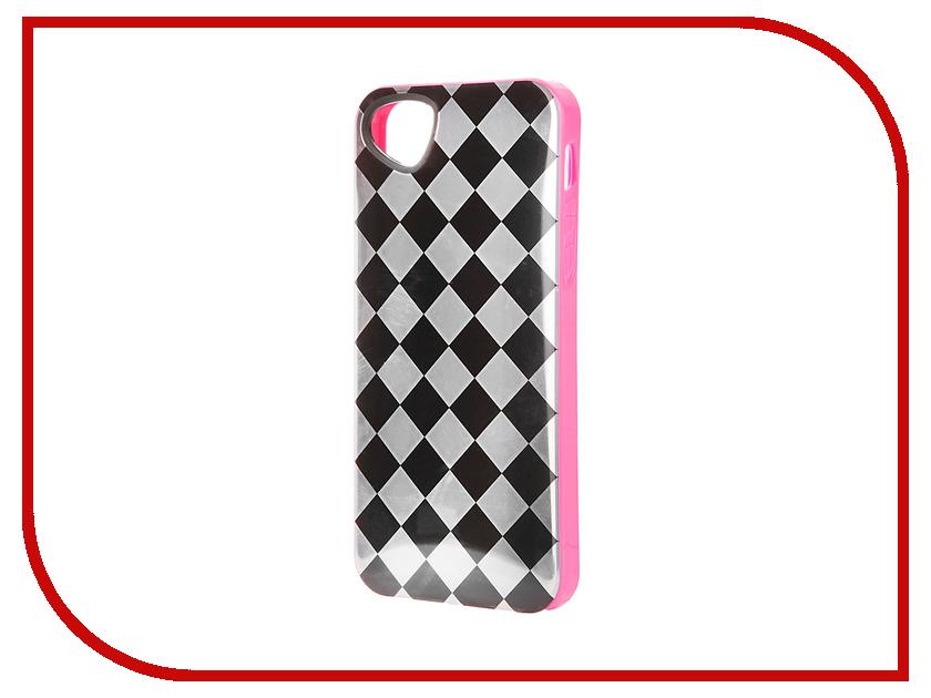 Аксессуар Чехол-накладка Itskins для iPhone 5/5S Killer Chic + пленка Black Lattice 096810519<br>