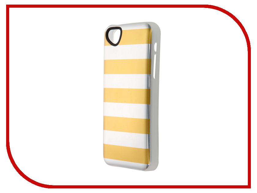 Аксессуар Чехол-накладка Itskins для iPhone 5C Killer Chic + пленка Yellow Stripes 229710532<br>