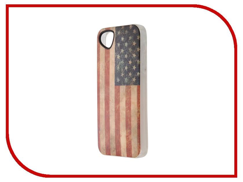 Аксессуар Чехол-накладка Itskins для iPhone 5/5s New Phantom + пленка America 207110537<br>