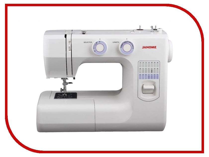 Швейная машинка Janome 943-05S White швейная машинка janome sew mini deluxe
