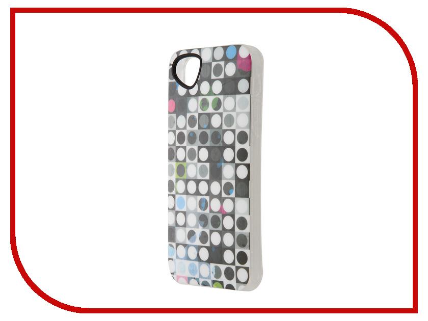 Аксессуар Чехол-накладка Itskins для iPhone 5/5s New Phantom + пленка Graphic Spot 425210542<br>