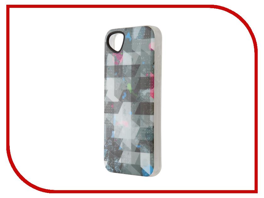 Аксессуар Чехол-накладка Itskins для iPhone 5/5s New Phantom + пленка Graphic Square 709010543<br>