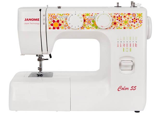 Швейная машинка Janome Color 55 White недорго, оригинальная цена