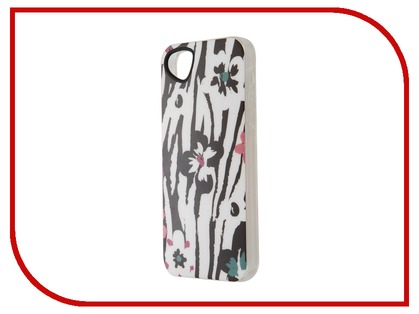 ��������� �����-�������� Itskins ��� iPhone 5/5s New Phantom + ������ Zebra Flower 428810548