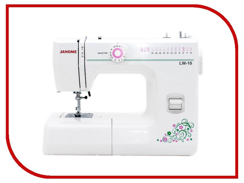 Швейная машинка Janome LW-10 White швейная машинка janome sew mini deluxe