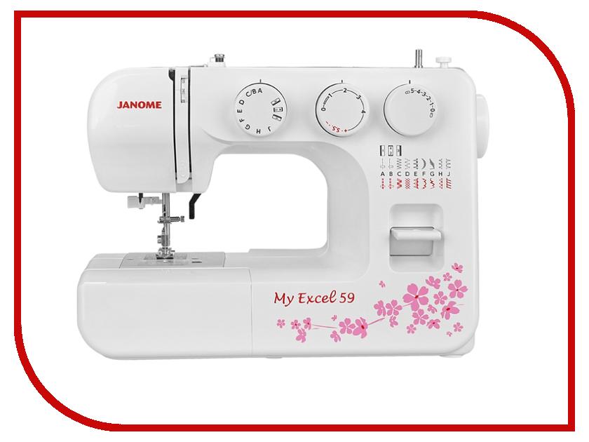 Швейная машинка Janome My Excel 59/MX 59 швейная машинка janome sew mini deluxe