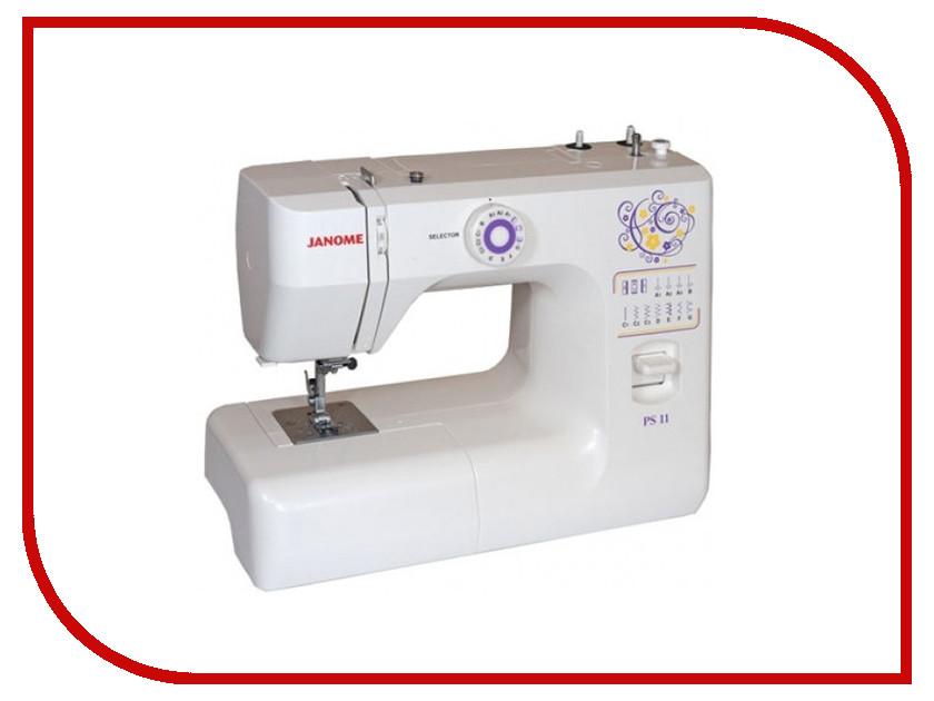 Швейная машинка Janome PS-11 White<br>