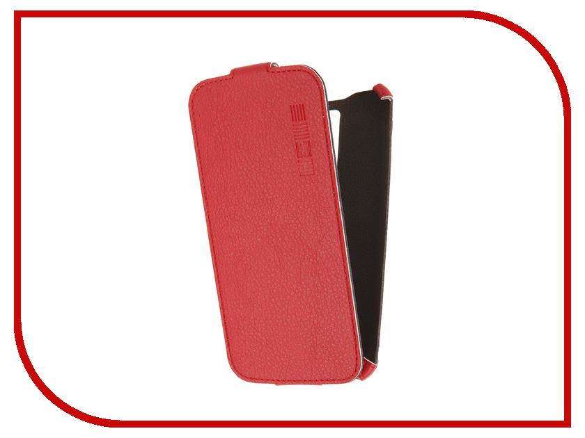Аксессуар Чехол LG K8 InterStep Crab Red HCB-LG000K8K-NP1104O-K100 45606<br>