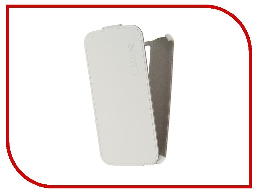 Аксессуар Чехол LG K8 InterStep Crab White HCB-LG000K8K-NP1103O-K100 45605<br>