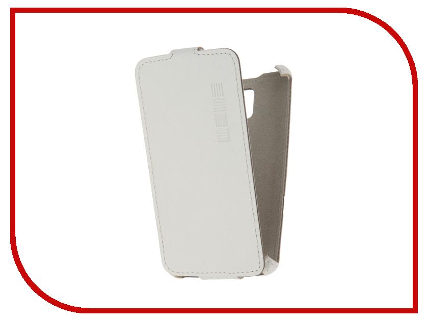 Аксессуар Чехол Lenovo A1000 InterStep Crab White HCB-LNA1000K-NP1103O-K100 40943<br>
