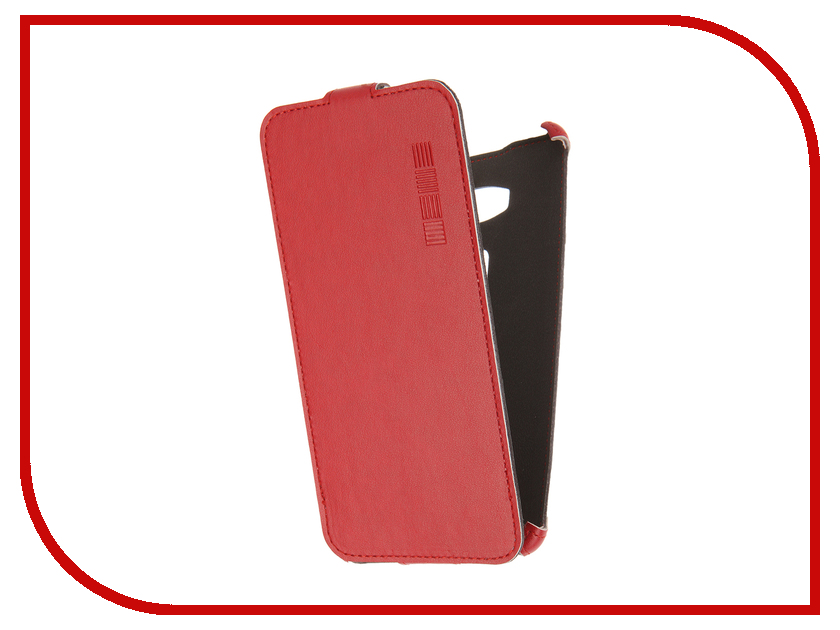 Аксессуар Чехол Huawei Honor 5X InterStep Crab Red HCB-HWHON5XK-NP1104O-K100 44539<br>