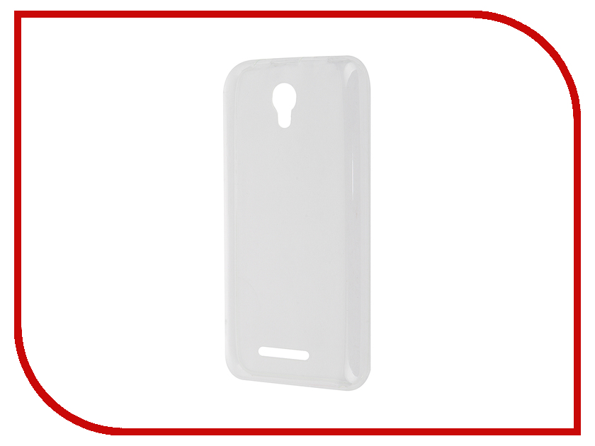 Аксессуар Чехол Alcatel Pixi First InterStep IS Slender TPU Transparent HSD-ALOTPXFK-NP1101O-K100 43971<br>