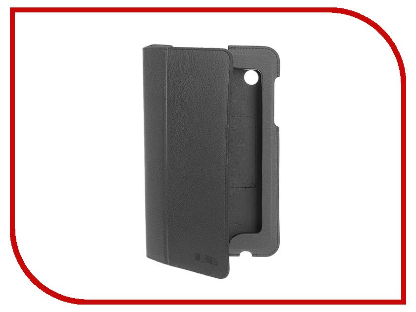Аксессуар Чехол Lenovo Tab A7-30 InterStep Steve Black HST-LNTA730P-NK1301O-K100 40207