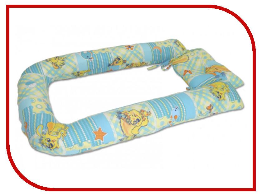 Ортопедическое изделие Smart Textile Бэби-Дом Лебяжий пух 21x25cm + бортики 72x42x8cm С505<br>