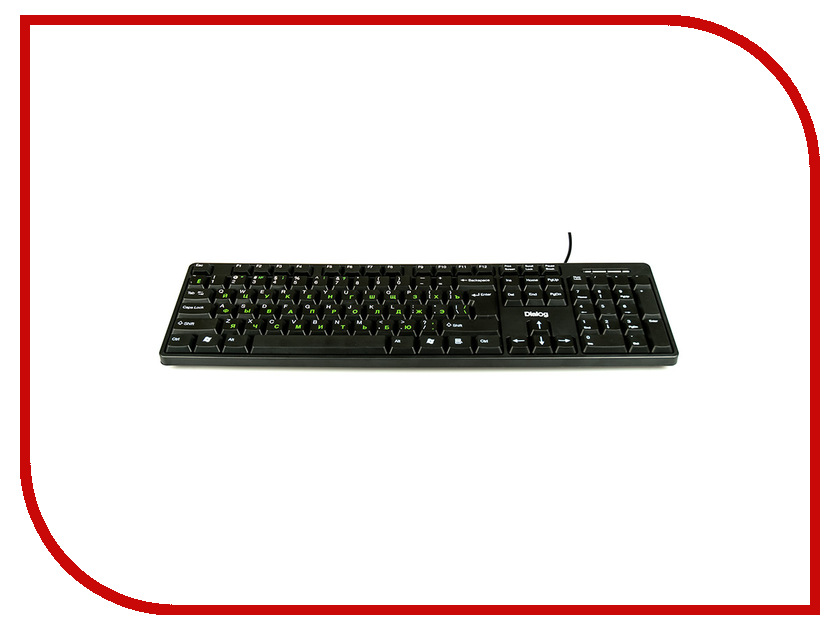 Клавиатура Dialog KS-030U Black<br>