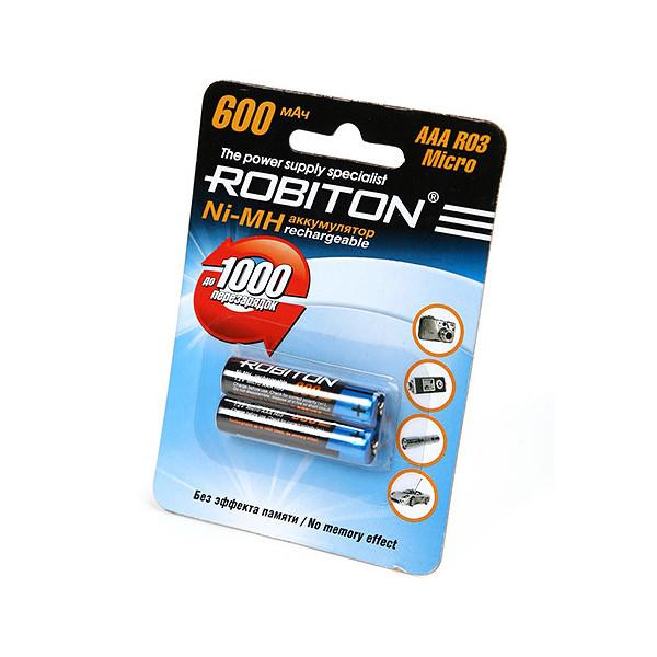 Аккумулятор AAA - Robiton 600 mAh 600MHAAA-2 prof SR2 13793 (2 штуки)