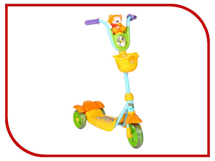 Самокат Leader Kids XG5102C-002 Green-Yellow<br>
