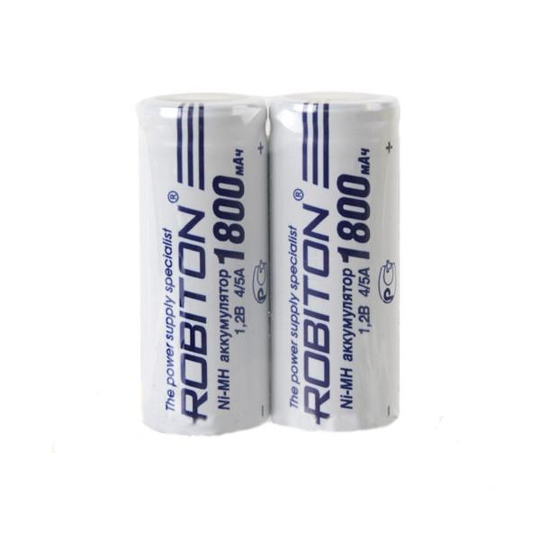 Аккумулятор 4/5A - Robiton 1800 mAh 1800MH4/5A-2 SR2 13797 (2 штуки) от Pleer