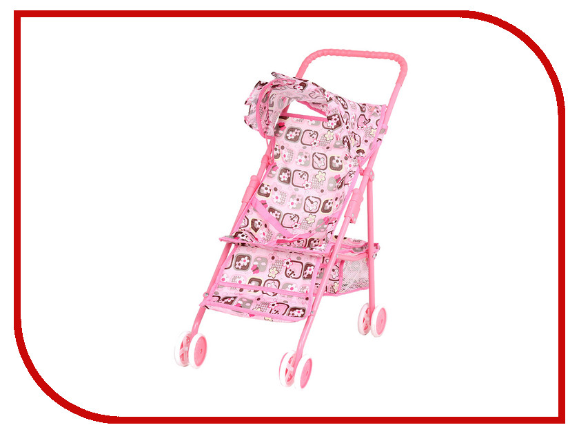 Игра Melobo Коляска для кукол 9317W Light Pink