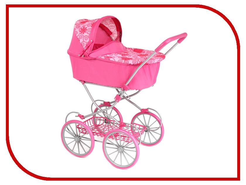 Игра Melobo Коляска для кукол 9673 Pink