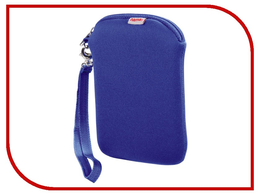 Аксессуар Hama H-95506 Neoprene Blue HDD 2.5<br>