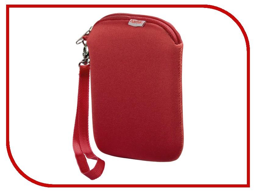 Аксессуар Hama H-95507 Neoprene Red HDD 2.5