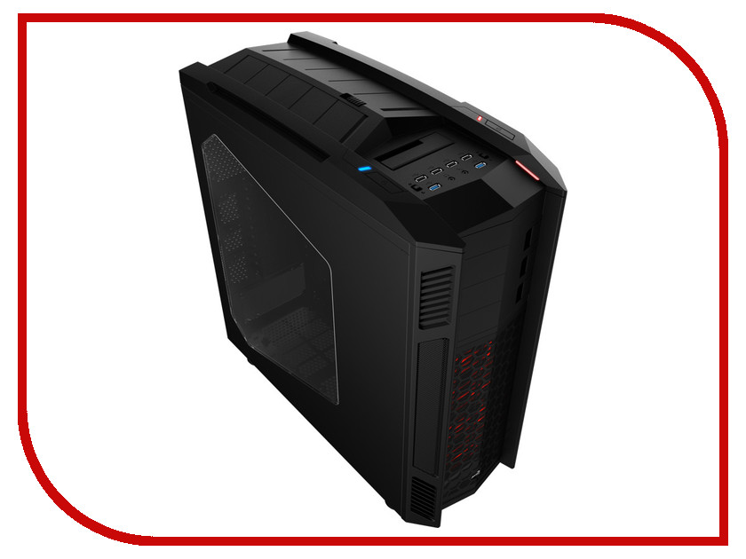 Корпус AeroCool Xpredator II Black корпус aerocool cyclops advance