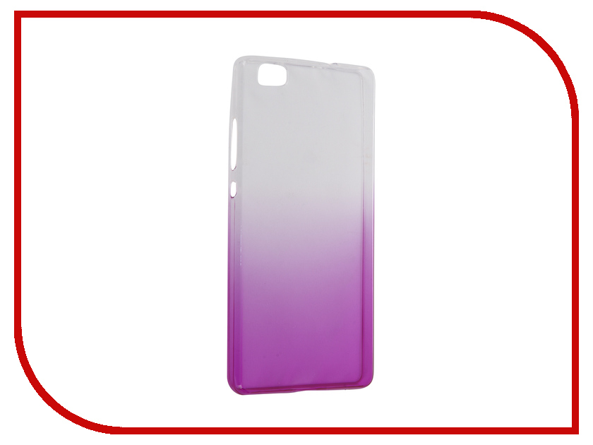 ��������� ����� Huawei P8 Lite IQ Format Silicone Violet