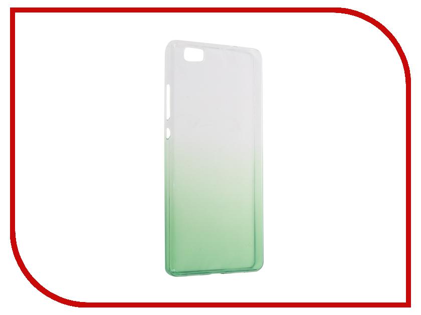 Аксессуар Чехол Huawei P8 Lite IQ Format Silicone Green<br>