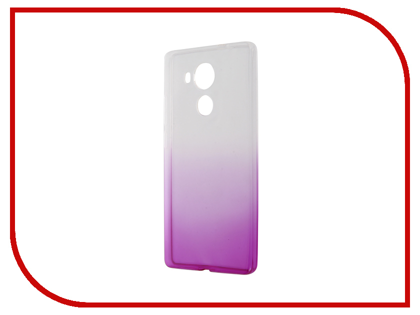 Аксессуар Чехол Huawei Mate 8 IQ Format Silicone Violet<br>