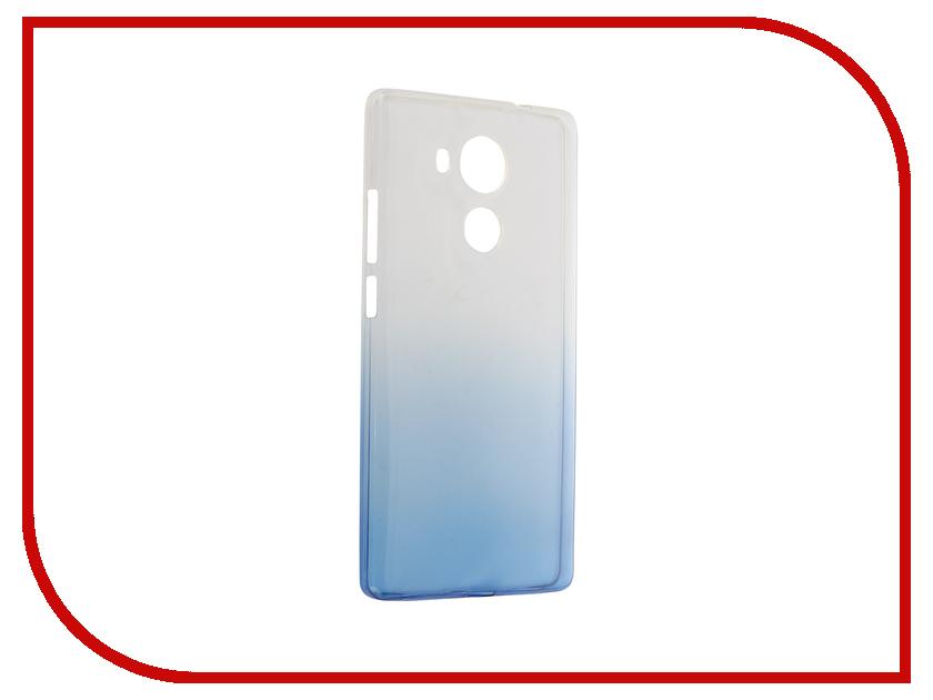 Аксессуар Чехол Huawei Mate 8 IQ Format Silicone Blue<br>
