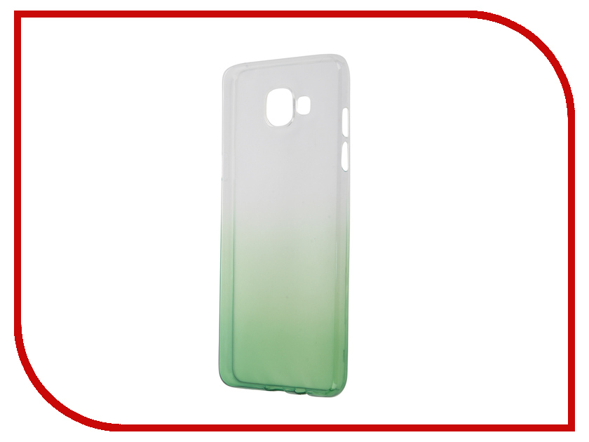 Аксессуар Чехол-накладка Samsung Galaxy A5 2016 A510 IQ Format Green<br>