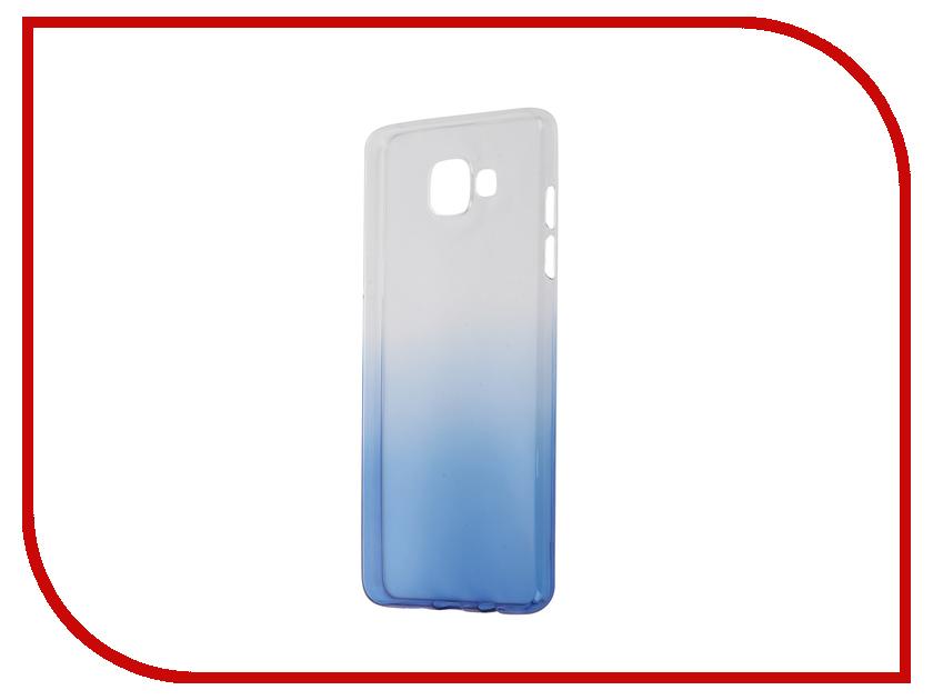 Аксессуар Чехол-накладка Samsung Galaxy A5 2016 A510 IQ Format Blue<br>