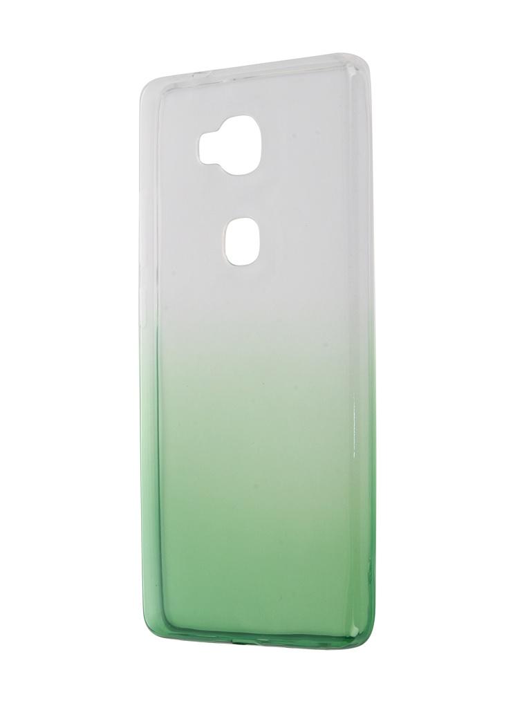 Аксессуар Чехол Huawei 5X IQ Format Silicone Green от Pleer