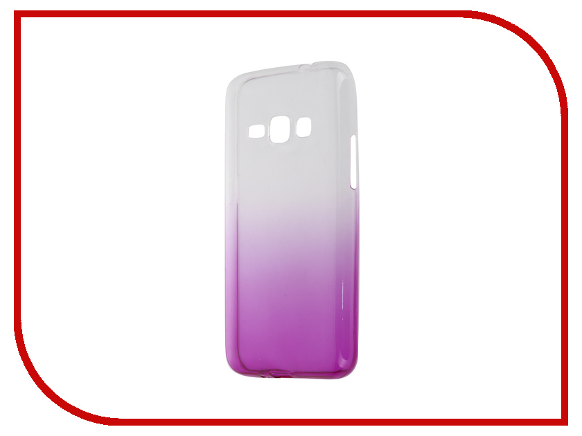 Аксессуар Чехол-накладка Samsung Galaxy J1 2016 J120 IQ Format Violet<br>