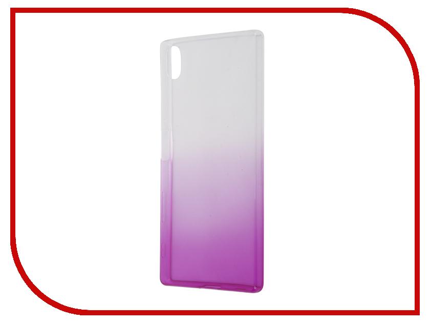 Аксессуар Чехол Sony Xperia Z5 IQ Format Silicone Violet<br>