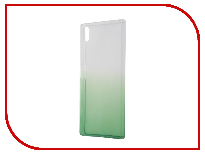 Аксессуар Чехол Sony Xperia Z5 IQ Format Silicone Green<br>