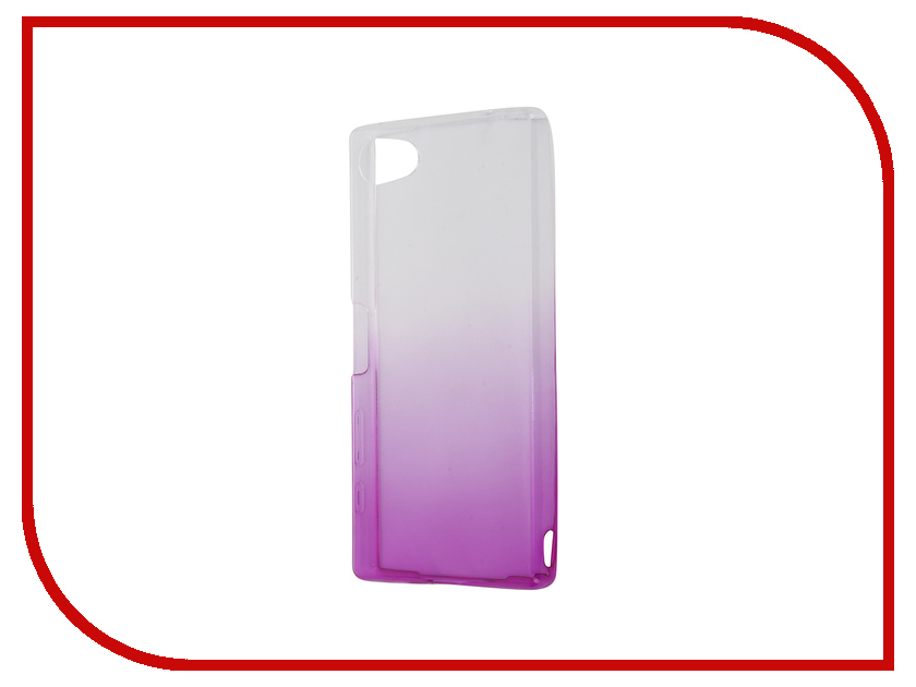 Аксессуар Чехол Sony Xperia Z5 Compact IQ Format Silicone Violet<br>