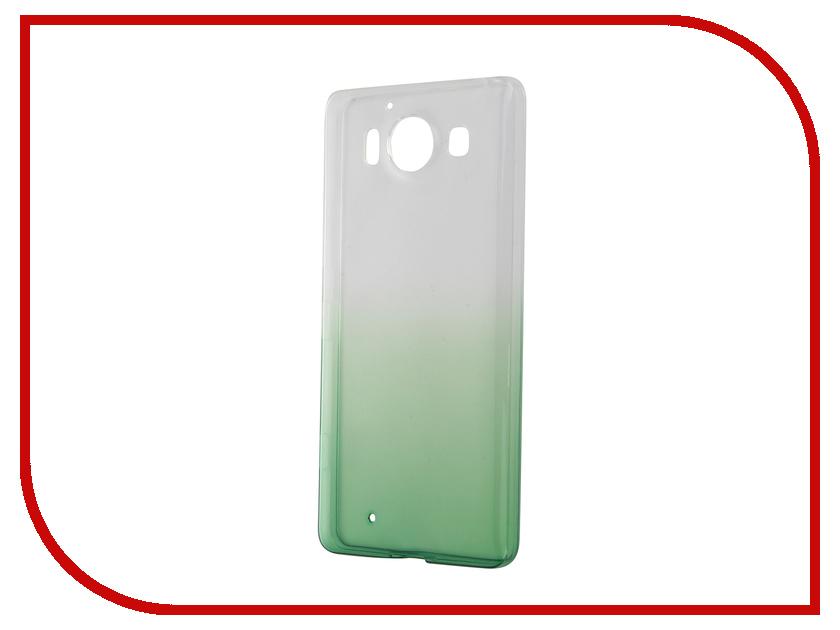 Аксессуар Чехол-накладка Microsoft Lumia 950 IQ Format Green