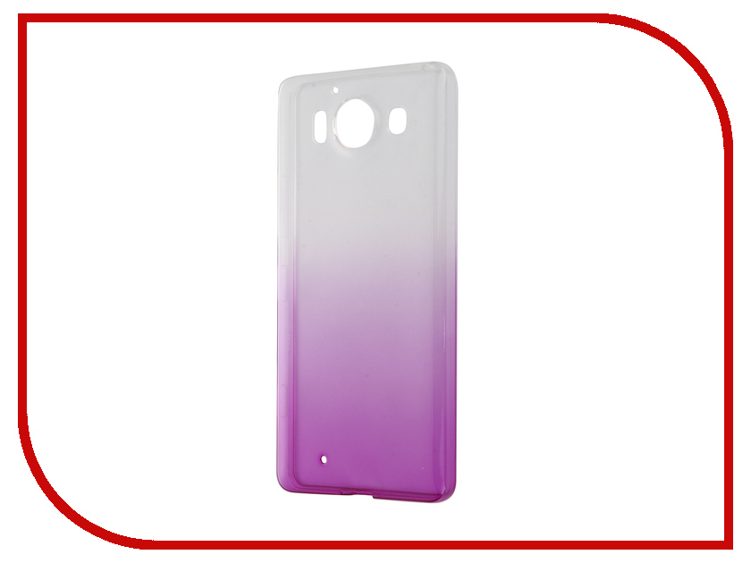Аксессуар Чехол-накладка Microsoft Lumia 950 IQ Format Violet<br>