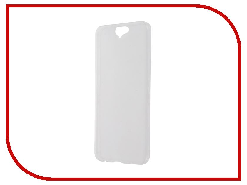 Аксессуар Чехол-накладка HTC One A9 IQ Format Transparent<br>