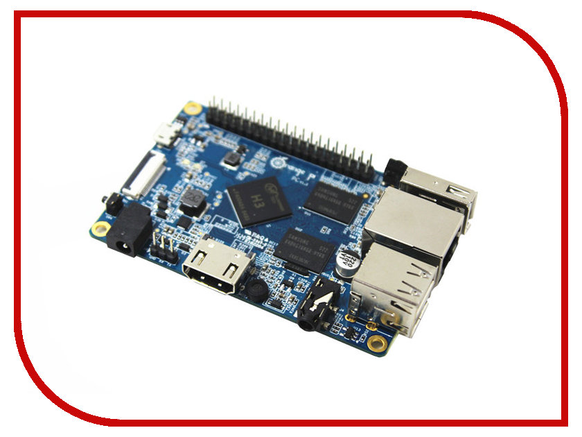 Мини ПК ORANGE PI PC мини пк raspberry pi 3 model b 1gb