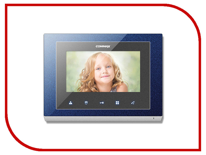 Видеодомофон Commax CMV-70S Blue<br>