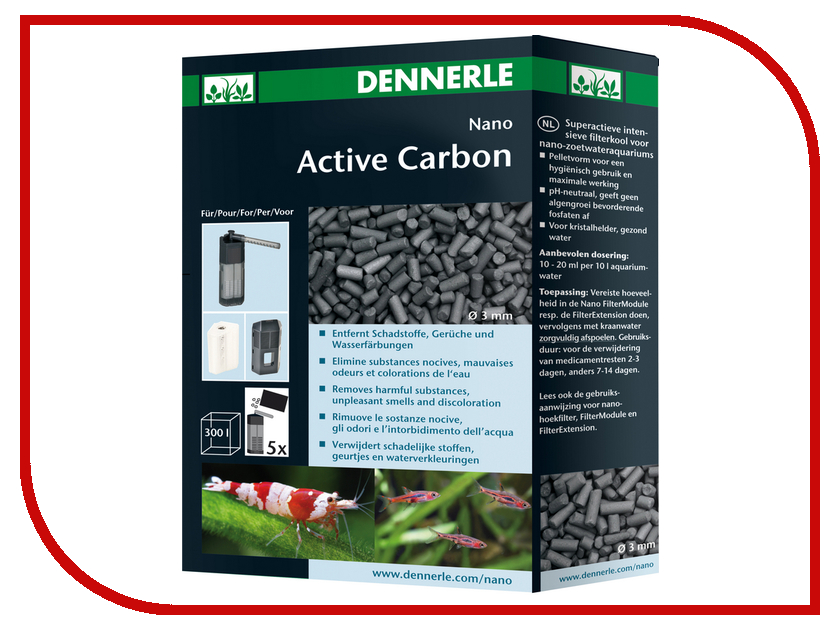 Аксессуар Dennerle Nano Active Carbon DEN5841<br>